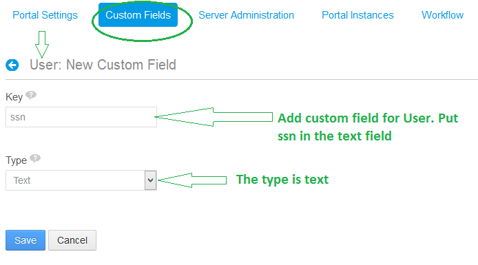 Add Custom Field for User
