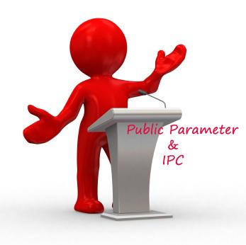 IPC public render parameter