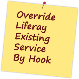 Liferay Service Hook